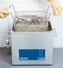 Bai cu ultrasunete Bandelin - dezinfectare instrumente